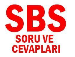 6. Sınıf SBS 2010